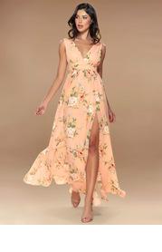 Blush Mark Versailles {Color} Maxi Dress