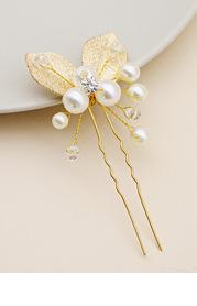 Dainty Pearl Swirl Hair Pin