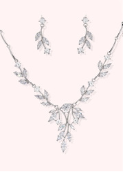 Crystal Vine Jewelry Set