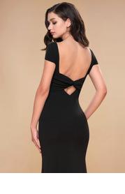Blush Mark Pure Beauty {Color} Stretch Crepe Maxi Dress