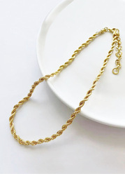 Together Forever Rope Necklace