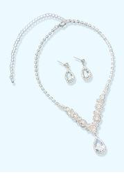 Rhinesstone Statment Jewelry Set