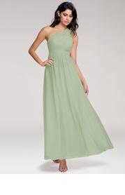 Blush Mark Magical Day {Color} Chiffon Maxi Dress