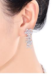 Enchanted Floral Drop Earrings
