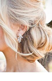 Abstract Petal Earrings