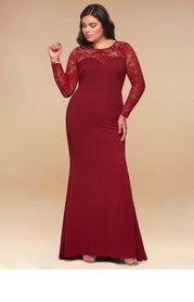 Blush Mark Plus Size Americano Maxi Dress