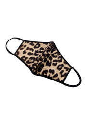 Non-Medical Leopard Print Reusable Face Mask
