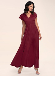 Blush Mark Earnest Of Style {Color} Maxi Dress