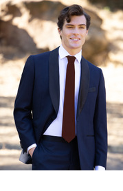 Gentlemen's Collection Suiting Style Wide Tie