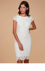 Blush Mark Heavenly Kiss {Color} Lace Bodycon Dress