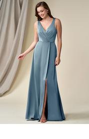 Azazie Jadie Stretch Satin Dress