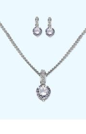 Exquisite Gem Jewelry Set