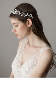 Ethereal Floral Headpiece