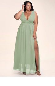 Blush Mark Plus Size Dancing Queen Maxi Dress