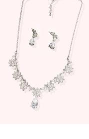 Blossom Teardrop Jewelry Set