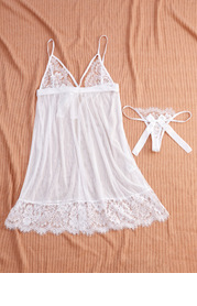 Ballet Sheer and Lace Slip