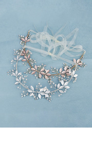 Breathless Floral Vine Headband