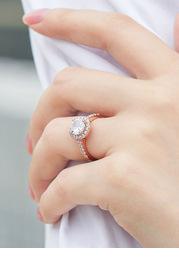 Exquisite Noble CZ Ring