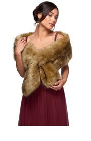 Azazie Sincerity Faux Fur Wrap