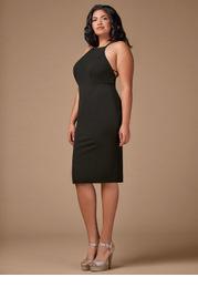 Blush Mark Plus Size Cocktail Hour  Midi Dress