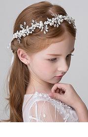 Juniper Flower Girl Headpiece