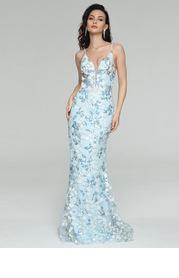 AZ Falling Petals Prom Dress