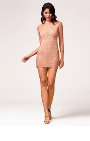 Blush Mark Perfect Day {Color} Mini Dress