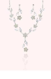 Crystal Daisy Jewelry Set