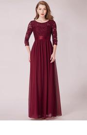 EVER-PRETTY Zip Back Lace Bodice Dress