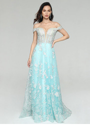 AZ Snowfall Prom Dress