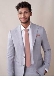 Gentlemen's Collection Matte Satin Skinny Tie