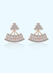 Shimmering Eyelash Earrings
