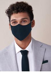 Azazie Men's Non-Medical Matte Satin Reusable Face Mask With Adjustable Loop