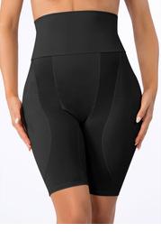 High Waisted Hip Enhancer Padded Shapewear Shorts