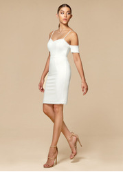 Blush Mark Mystery {Color} Mini Dress