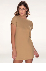 Yours Truly {Color} Shift Dress