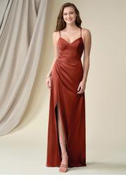 Azazie Marchella Stretch Satin Dress