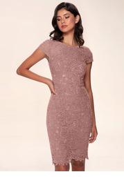 Blush Mark Heavenly Kiss {Color} Lace Bodycon Short Dress