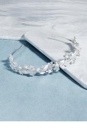 Crystal Gilded Floral Vine Headband