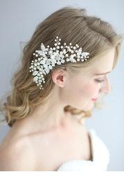 Victoria Floral Comb