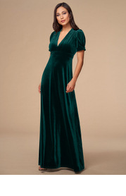 Beautiful Dreamer {Color} Velvet Maxi Dress