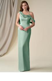 Azazie Siren Stretch Satin Dress