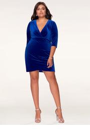 Blush Mark Plus Size Dance All Night  Bodycon Dress