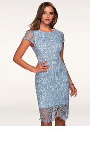 Heavenly Kiss {Color} Lace Bodycon Dress
