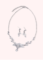 Dew Drop Leaf Jewelry Set