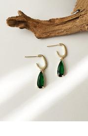 Gold Raindrop Earrings