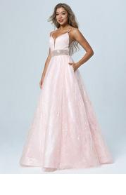AZ Pink Petals Prom Dress