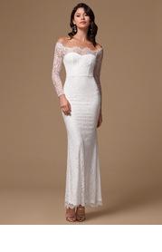 Say I Do {Color} Lace Maxi Dress