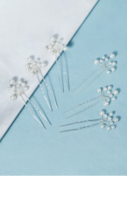 Pearl Strands HairPins Set