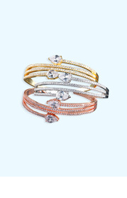 Shimmering Snake Bracelet